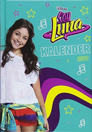 Soy Luna 17-Monats-Kalenderbuch A6 - Kalender 2019: 17 Monate. Von August bis Dezember