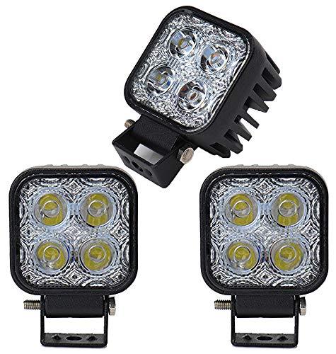 Leetop 3X 12W LED Scheinwerfer IP67 Wasserdicht LED Arbeitsscheinwerfer 12V 24V Auto Flutlicht Rückfahrscheinwerfer 3-led-scheinwerfer