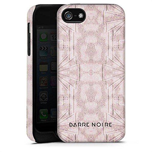Apple iPhone 4 Housse Étui Silicone Coque Protection Motif floral Fleurs Fleurs Cas Tough terne