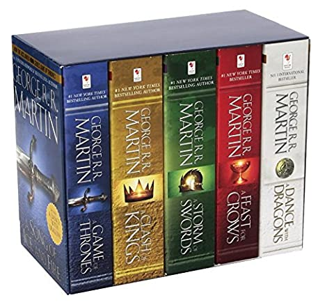 George R. R. Martin's A Game of Thrones 5-Book Boxed Set (Song of Ice and Fire Series): A Game of Thrones, A Clash of Kings, A Storm of Swords, A ... (George R. R. Martin Song of Ice and