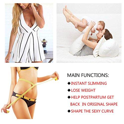 75106552089e NINGMI Women's Firm Control Thong Body Briefer Shapewear Seamless Open Bust  Bodysuit Shaper