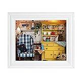 TOPINCN Fai da Te Kit casa delle Bambole Fai-da-Te Appeso Photo Frame per la casa Ornamento da tavola Decor Regali di Compleanno