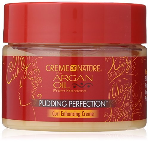Cream of Nature Argan Oil Pudding Perfection Curl Enhancing Creme 326g by Cream of Nature