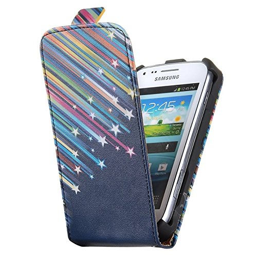 Trends Promo Cuir Style Étui Coque Housse de Protection pour Samsung Galaxy Trend GT-S7560 / Galaxy S Duos S7562 (A821)