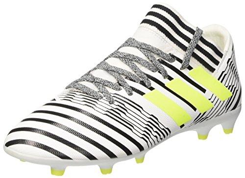 adidas Kids Unisex Nemeziz 17.3 Firm Ground Cleats Soccer Shoes, Multicolor (Ftwr...