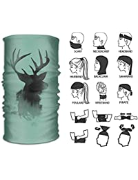ruichangshichengjie Headband Reindeer Outdoor Multifunctional Headwear 16  Ways to Wear Your Magic Headwear Scarf 7435404e2522