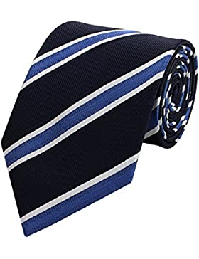 Edle Fabio Farini Krawatte, 8 cm in verschiedenen Farben Hochzeit Buisness Anzugskrawatten