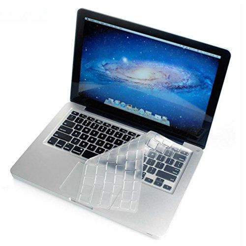 JIANGfu Tastaturmembran, TPU Keyboard Cover Skin für Old Macbook Pro 13 15 17