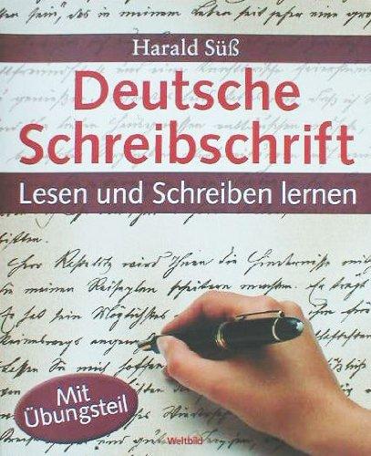Deutsche Schreibschrift - Lesen und Schreiben lernen
