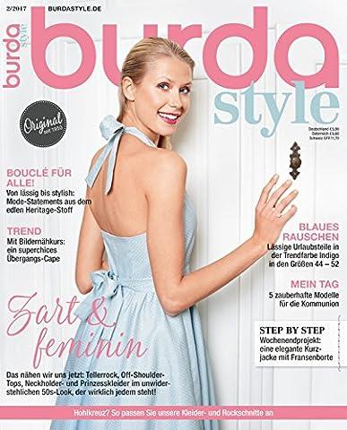 Burda style 2017 #02 Februar-Ausgabe
