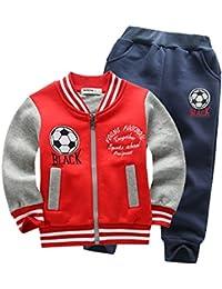 Bebé Abrigo de niños+Pantalones Conjuntos de Ropa para niños Pequeños Conjuntos ...