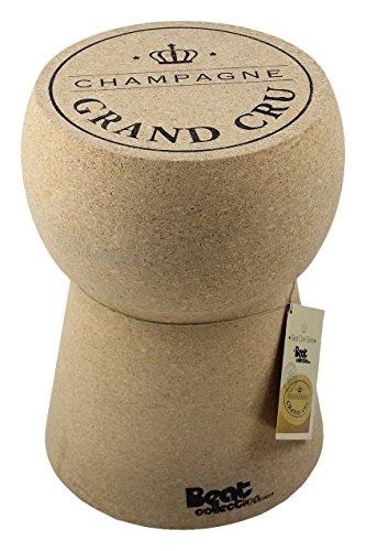 Beat Collection Champagne 1 - Taburete, 46 x 34 x 34 cm, color marrón