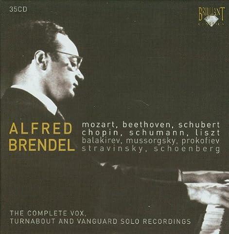 Alfred Brendel : Mozart - Beethoven - Schubert - Chopin - Schumann - Liszt ... (35 CD)