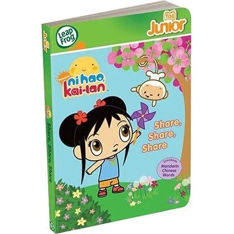Leapfrog Tag Junior Book, Ni Hao, Kai - Lan Share by LeapFrog Enterprises