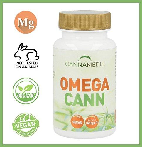 *OMEGA CANN CBD Hanf Kapseln mit Omega-3 – Glutenfrei, Vegetarisch, Vegan, für Herz und Herz-Kreislauf-System*