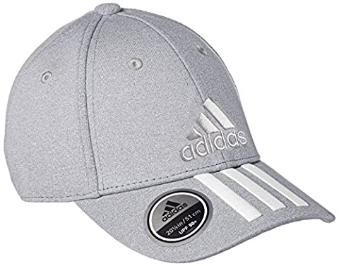 adidas Classic 3-Stripes Casquette Mixte Enfant, Medium Grey Heather, FR : Taille Unique (Taille Fabricant : OSFC)