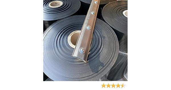 Breite 100 cm mit Verschlussschiene 8 Meter Rhizomsperre//Wurzelsperre St/ärke 2 mm Bundle
