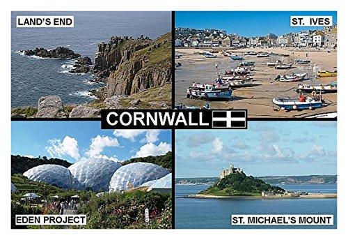souvenir-fridge-magnet-cornwall-england-lands-end-st-ives-eden-project-9cm-x-6cm-jumbo