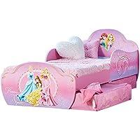 Disney Princesses - Lit pour enfants avec espace de rangement sous le lit