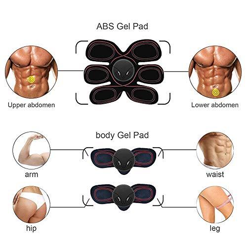 Zoom IMG-1 elettrostimolatore muscolare ems addominali trainer