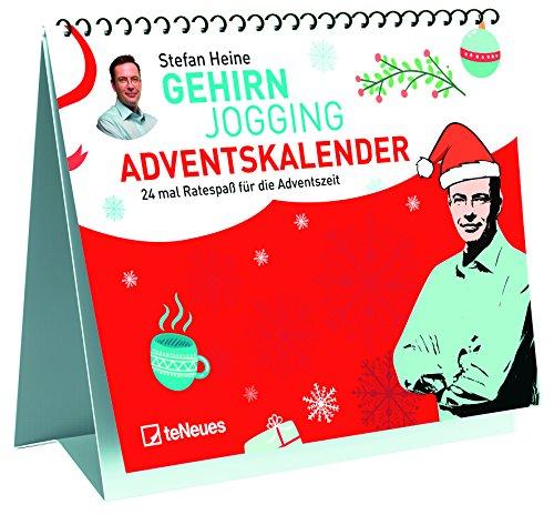 Stefan Heine Adventskalender für Erwachsene 2018 - Adventskalender, Rätselkalender, Tischkalender - 29,7 x 42 cm