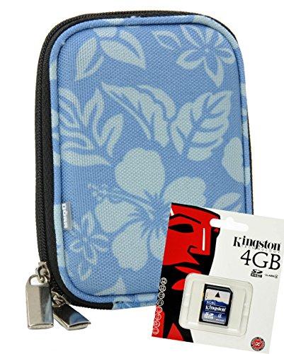Foto Kamera Tasche Hardbox FLOWER inkl. 4 GB SD Karte