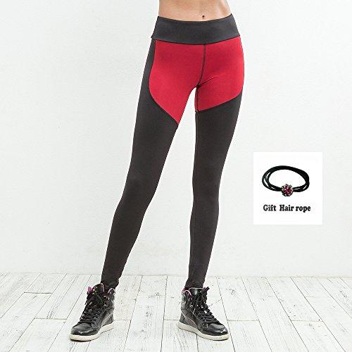 Huoduoduo Damen Sport Leggings, Farblich Passende Leggings, Dicke Yogahosen (Größe S, M, L, Geschenkschnur),S | 06852222426298
