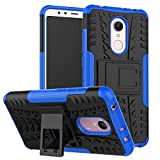#4: Parallel Universe Original Xiaomi Redmi 5 Back Cover Case Dual Layer Rugged and Tough Defender With Bult in stand - Blue