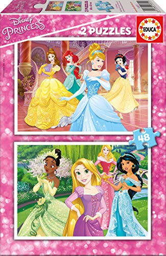 Disney Princesas Puzzle, Color (Educa Borrás 16851