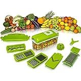 Frutas verduras Multi cortador Nicer Dicer Plus pelador cortador Chopper Container