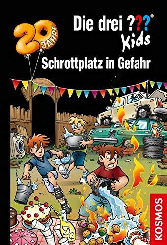 Cover des Mediums: Die drei Fragezeichen Kids - Schrottplatz in Gefahr