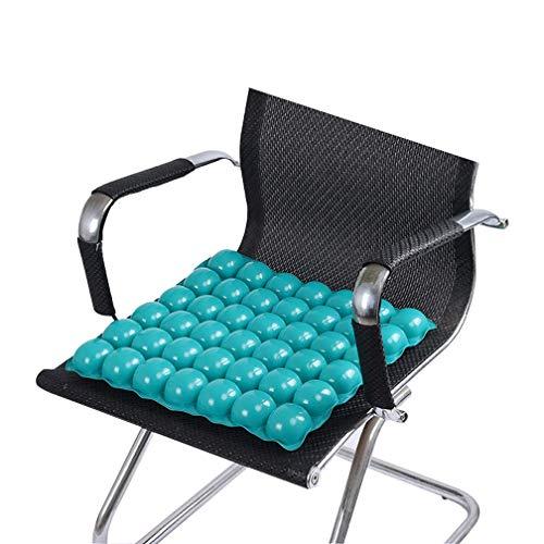 Koshsh cuscino d'aria per sedia a rotelle, schiuma di memoria cuscino sedile gonfiabile anti decubito pad pressione sollievo ideale per auto sede ufficio o all'aperto