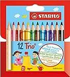 STABILO Trio dick 12er Kartonetui kur...