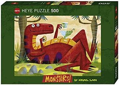 Heye - Heye-29624 - Puzzle Classique - Monster Punch - 500 Pièces   Vogue
