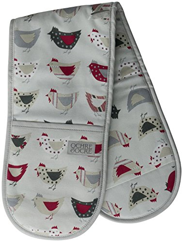 Double Oven Gloves - Organic Cotton - Roost