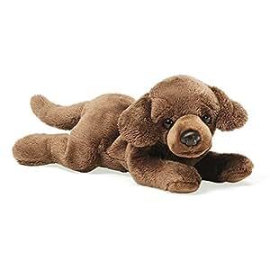 Enesco 4028850 Peluche Labrador Chocolat Couche Polyester 8 cm
