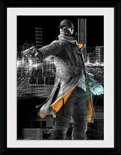 GB Eye, Poster incorniciato, 16 x 12