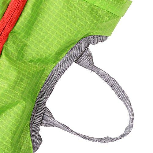 Fahrrad Rucksack Trinkblase Tasche 15L Riding Mountain Fahrrad Wasserdichte Tasche mit Ein Netz Halt ein Helm Grün