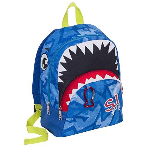 SEVEN SJ Gang Boy - Kinderrucksack mit Reißverschluss - Farbe Blau