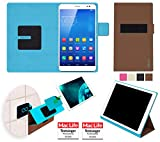 reboon Huawei MediaPad X1 7.0 Hülle Tasche Cover Case Bumper | in Braun | Testsieger