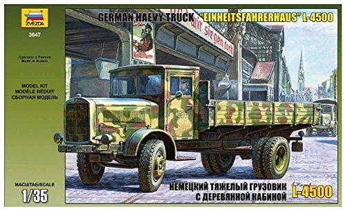 Zvezda - Z3647 - Maquette - Mercedes L4500S Einheitskabine - Echelle 1:35