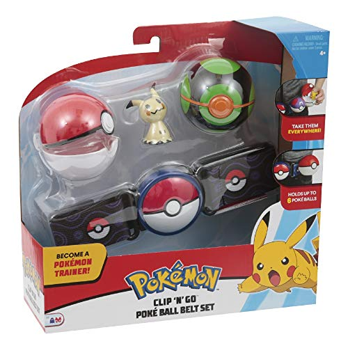 "Giochi Preziosi Pokemon Clip 'n Go Dusk Ball, Poke Ball and 1 - 2"" Mimikyu"