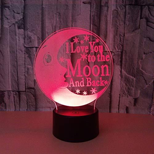 Nachtlicht Kreative 3D Auge Nachtlicht Spielzeug Großhandel Luminaria De Mesa Led Nachtlicht Drahtlose Usb Led Power Kinder Lampe