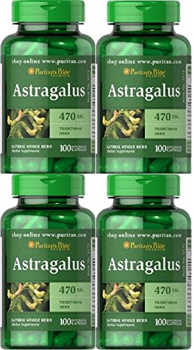 4 ASTRAGALO 470 MGR 100 CAPS. SISTEMA INMUNOLOGICO, ASTRAGALUS
