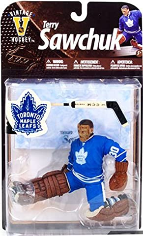 McFarlane Toys NHL Sports Picks Legends Series 8 Action Figure Terry Sawchuk (Toronto Maple Leafs) by Unknown