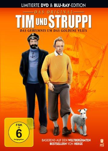 Tim und Struppi - Das Original - Das Geheimnis um das goldene Vlies (limitierte DVD & Blu- Preisvergleich