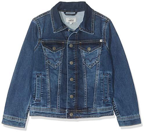 Pepe jeans legendary pb400171 giacca, blu (gymdigo medium used denim gt1), 12-13 (taglia produttore: 152/12 anni) bambino