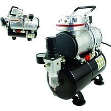 Aerógrafo compresor AS189único Cilindro pistón compresor, sin aceite