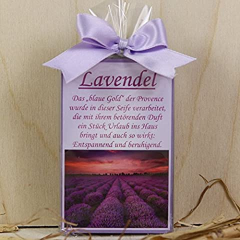 Allgäuer Kuhmilchseife Lavendel (Satin Gold Sb)