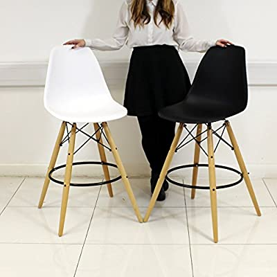 Eames Eiffel Style Designer Bar Stool - inexpensive UK sofabed store.
